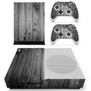 Wood Xbox ONE S sticker