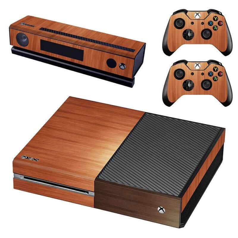 Wood Xbox ONE sticker