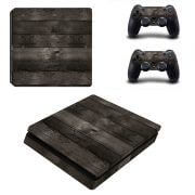 Wood ps4 slim sticker