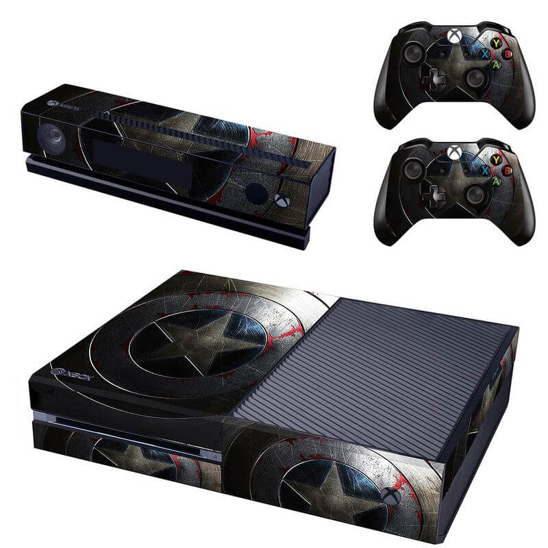 captain america xbox one sticker