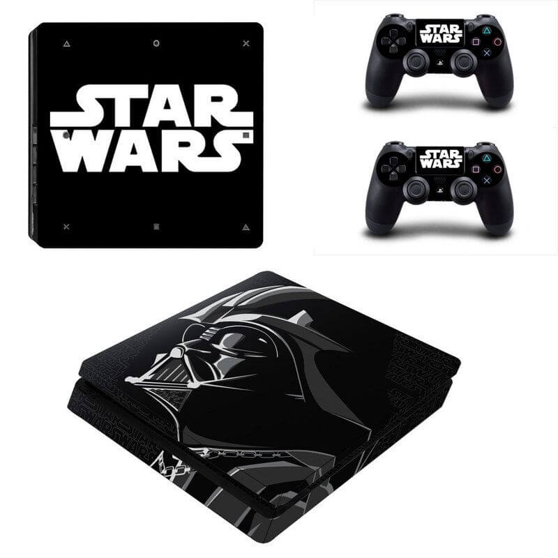 star wars ps4 slim sticker