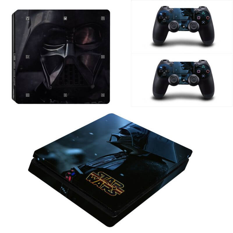 star wars v2 ps4 slim sticker
