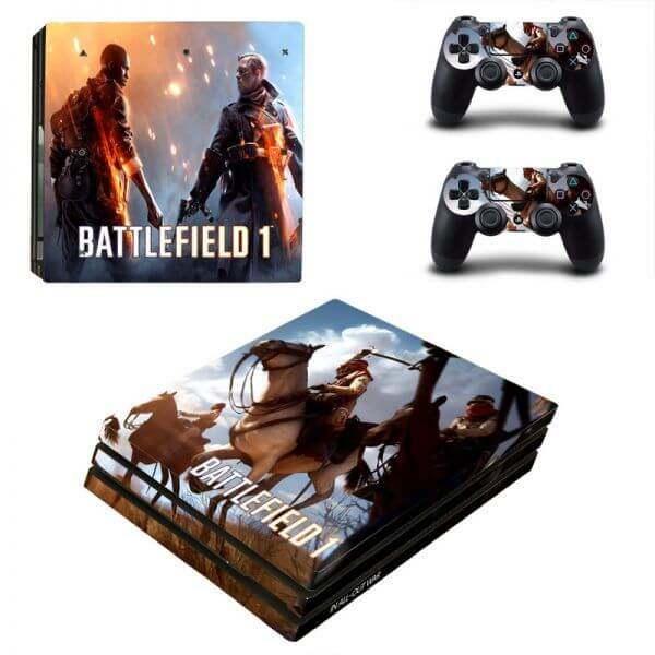 Battlefield 1 PS4 Pro Skin