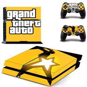 Grand of the auto (GTA 5) PS4 Skin