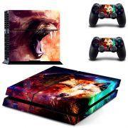 Lion en Wolf PS4 Skin
