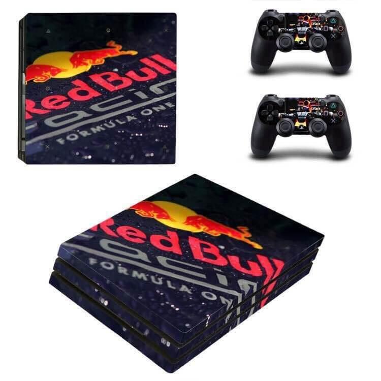 Red Bull Max Verstappen PS4 Pro Skin