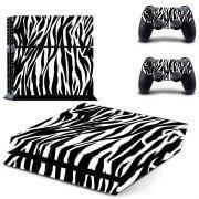 Zebra Print PS4 Skin