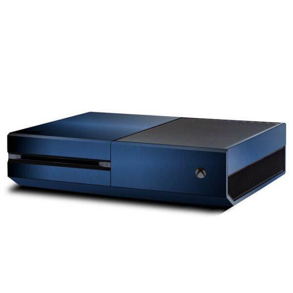 Brushed Blue Xbox ONE skin