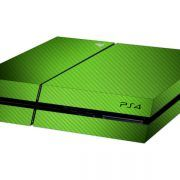 Carbon Green PS4 skin