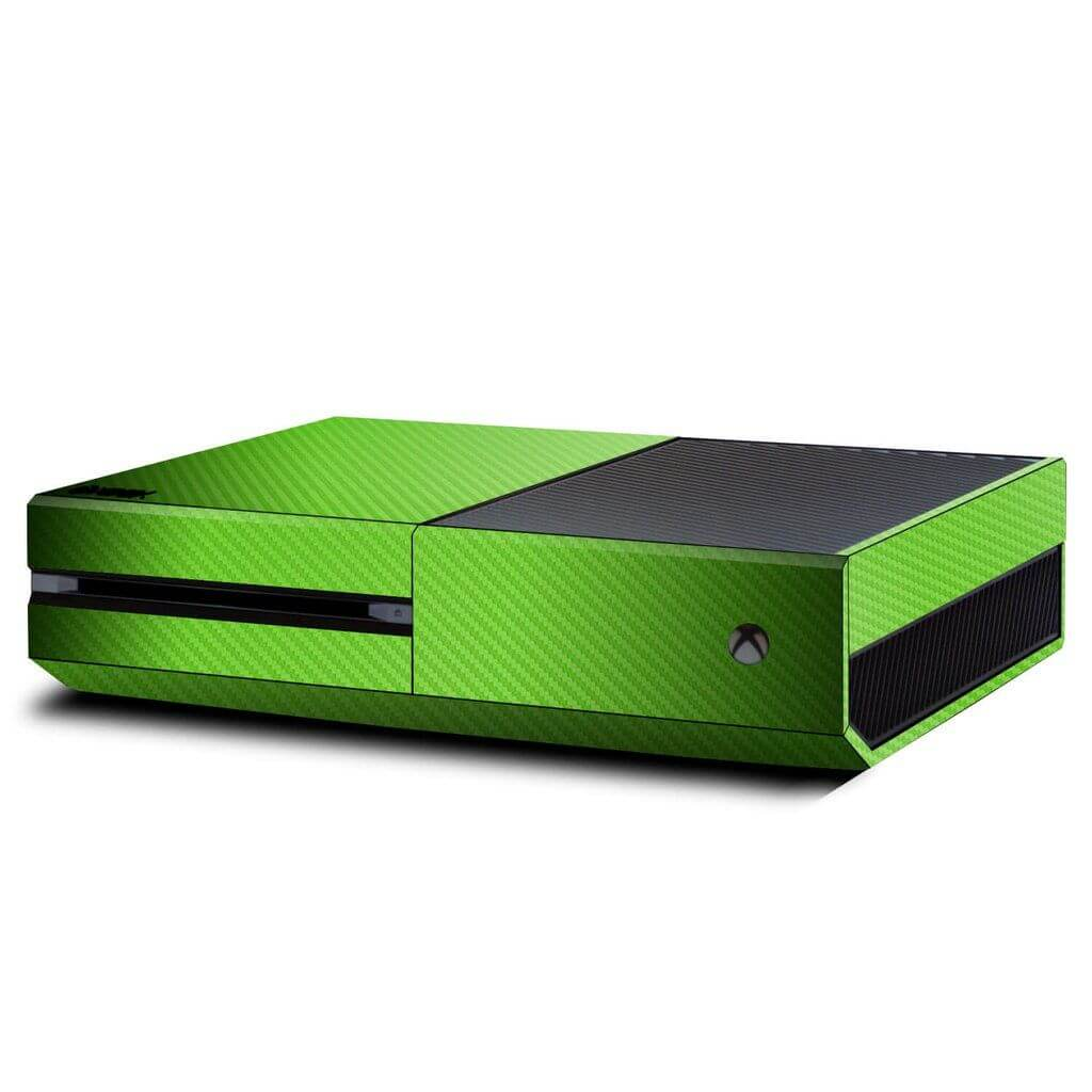 Carbon Green Xbox ONE skin