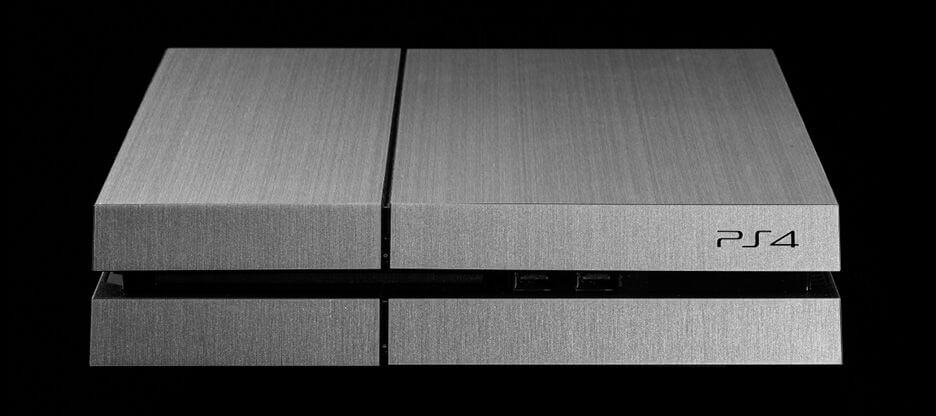 PS4 aluminium edition