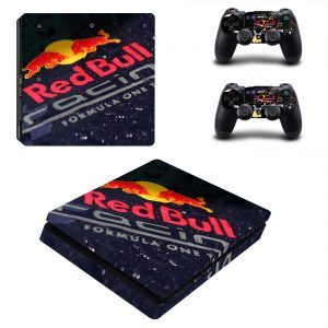 Red Bull Max Verstappen PS4 Slim Skin