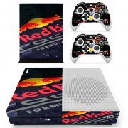Red Bull Max Verstappen Xbox ONE S skin