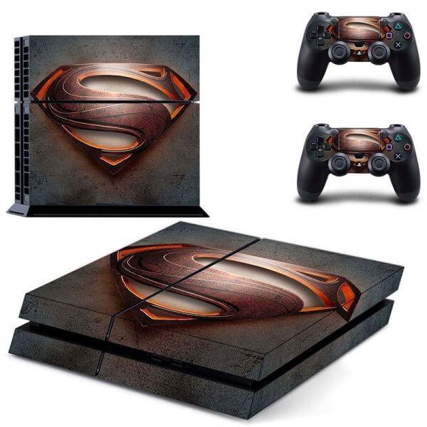 Superman Logo PS4 Skin