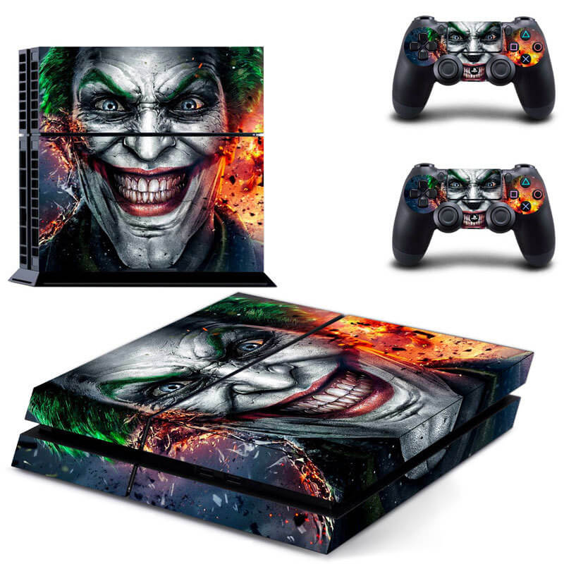 The Joker Crazy PS4 skin