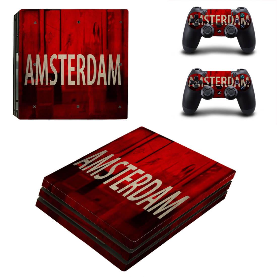 Amsterdam PS4 Pro skin