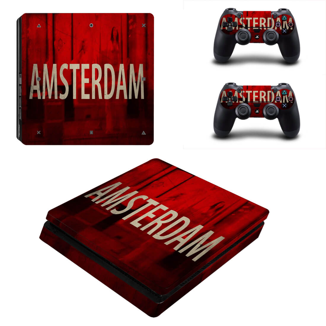 Amsterdam PS4 Slim skin