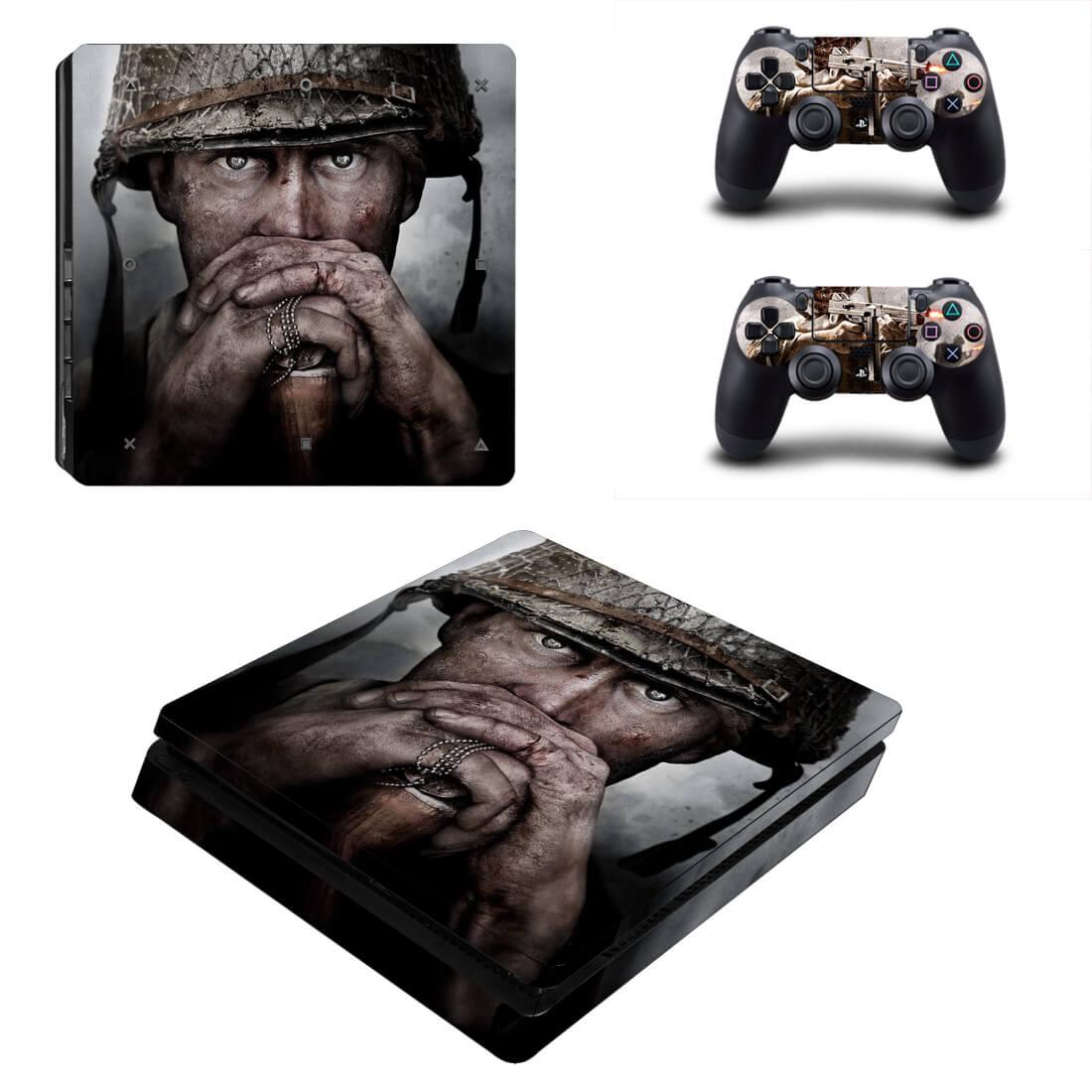 COD WW2 PS4 Slim skin