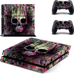 Color Skull Ps4 skin