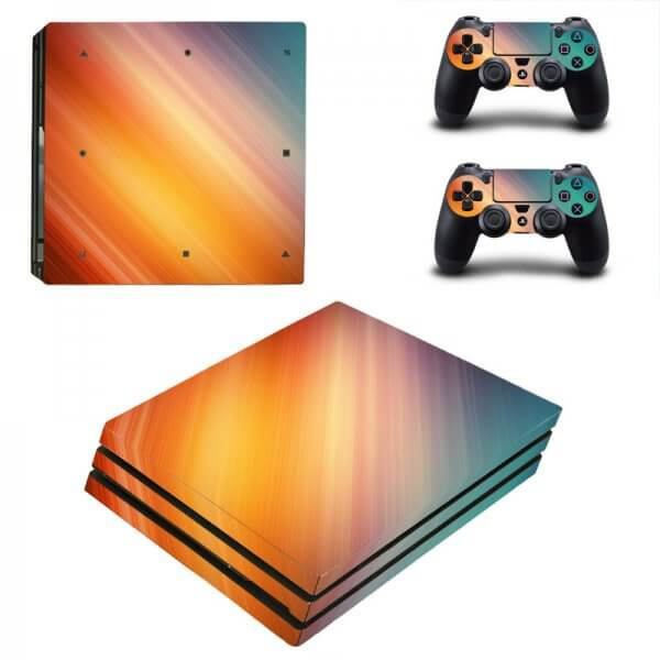 Colorful PS4 Pro Skin