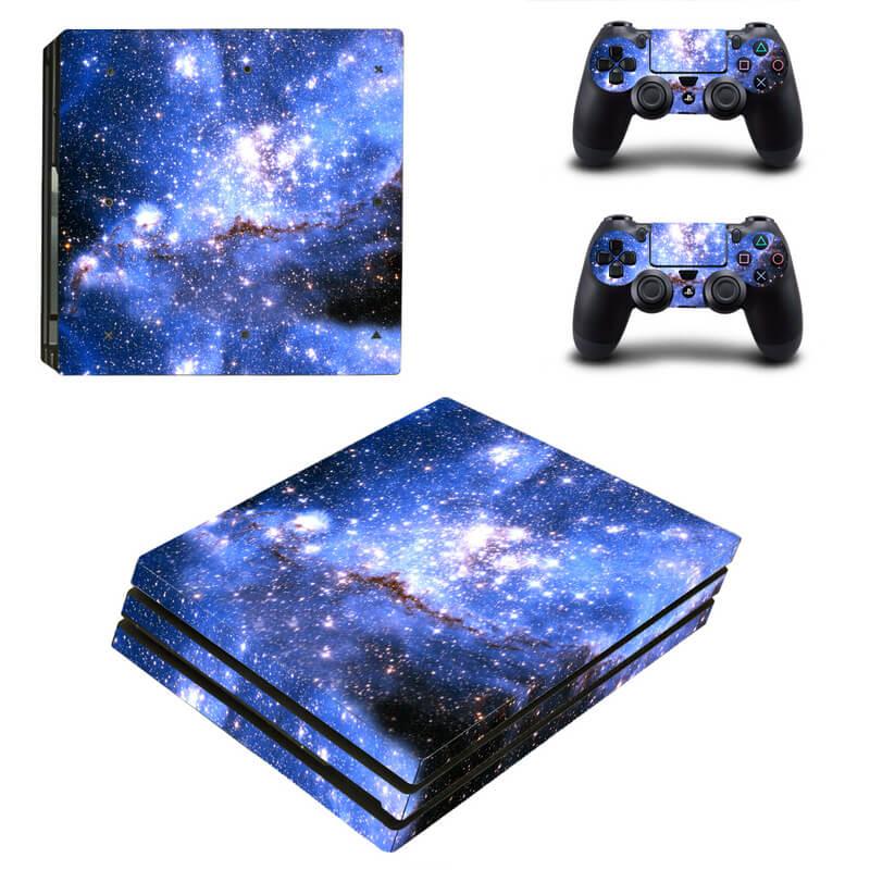 Galaxy PS4 Pro Skin
