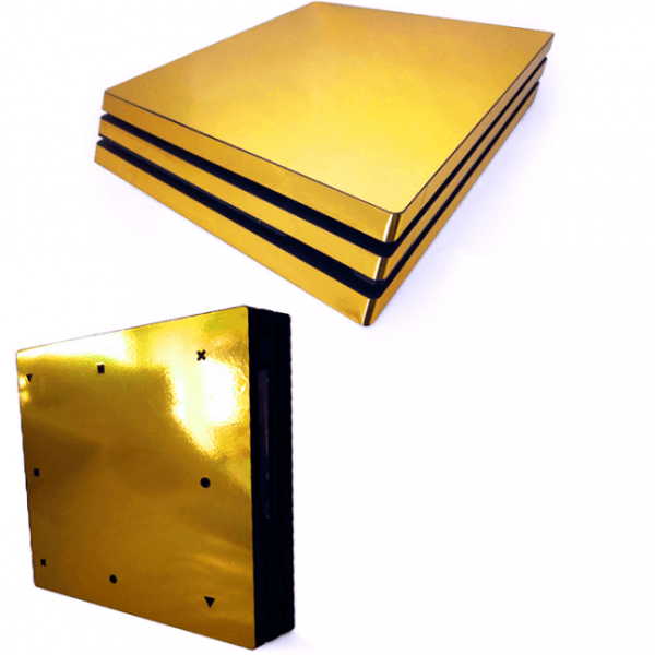 Gold Limited PS4 Pro skin