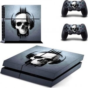 Headphone Skull PS4 skin