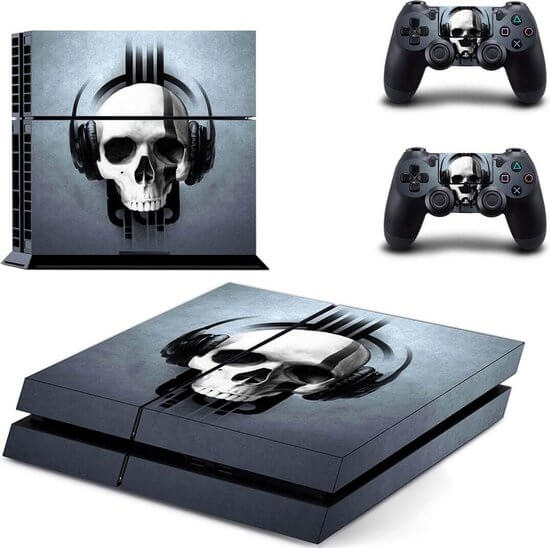 Headphone Skull PS4 skin
