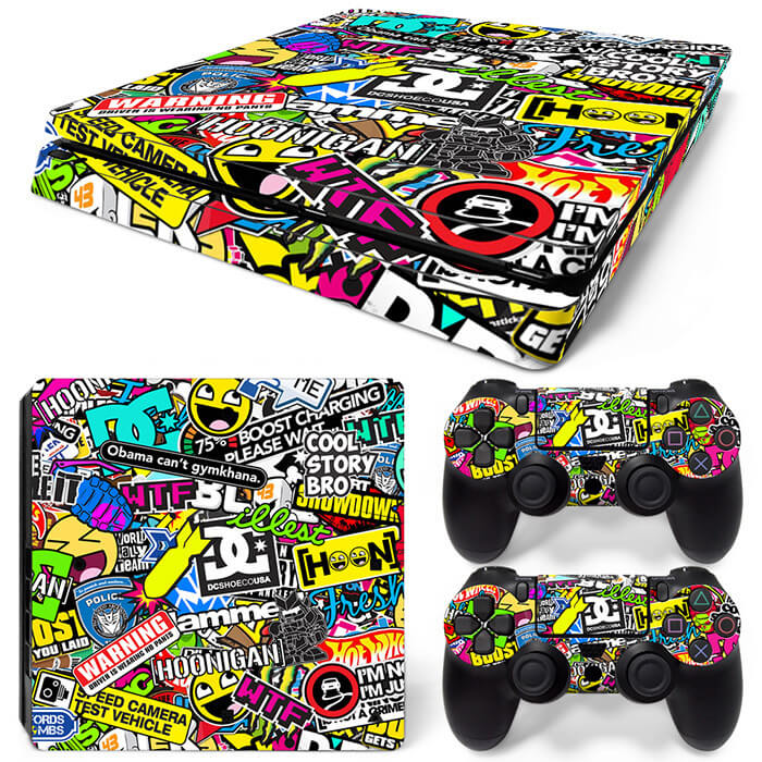 Hoonigan PS4 Slim skin