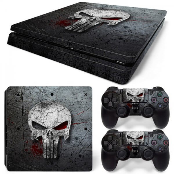 Punisher PS4 Slim skin