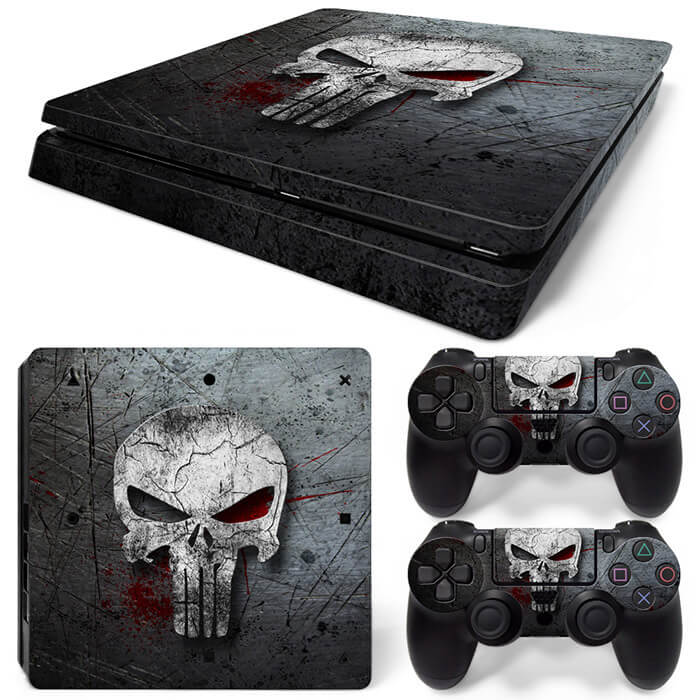 Punisher PS4 Slim skin