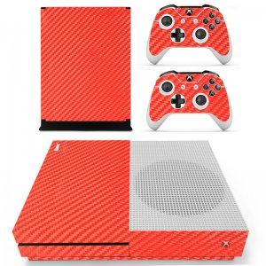 Red Carbon Xbox ONE S skin