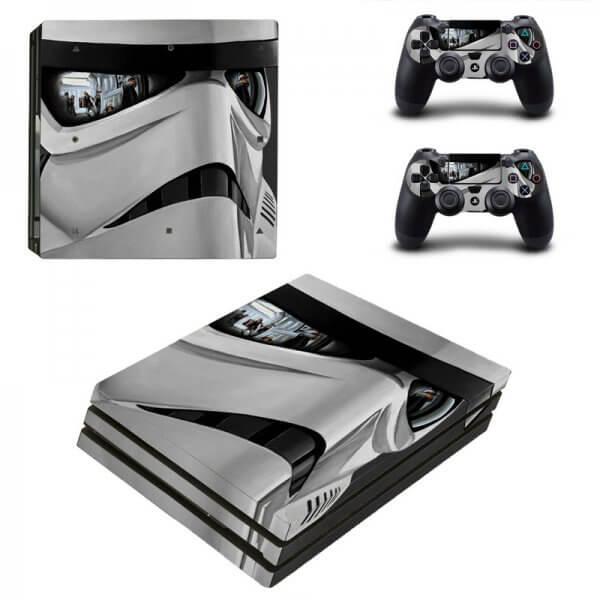 Stormtrooper V2 PS4 Pro skin