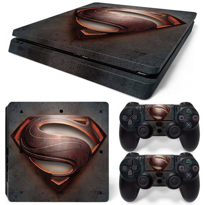 Superman Logo PS4 Slim skin