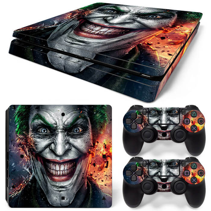The Joker PS4 Slim skin
