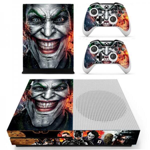 The Joker Xbox ONE S skin