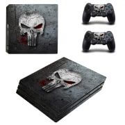 The Punisher PS4 Pro skin
