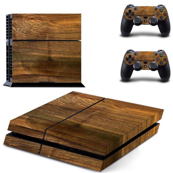 Wood V3 PS4 skin