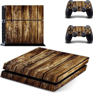 Wooden Shelf Ps4