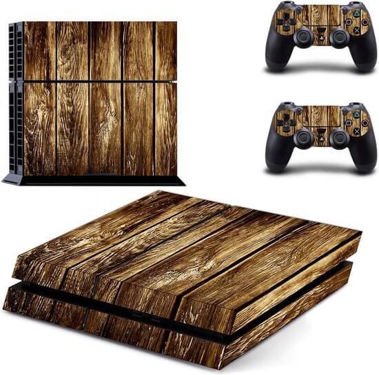 Wooden Shelf Ps4