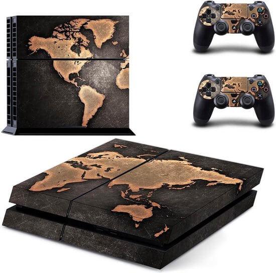 World PS4 skin