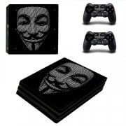 Anonymous PS4 Pro skin