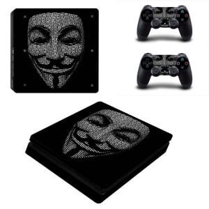 Anonymous PS4 Slim skin