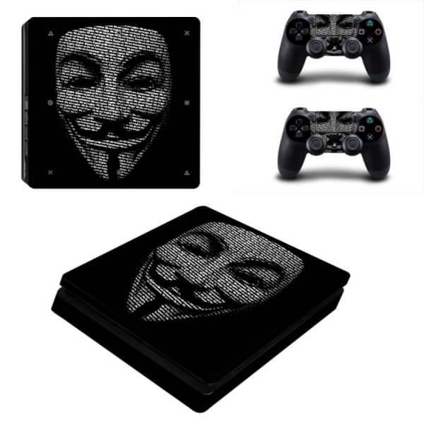 Anonymous PS4 Slim skin