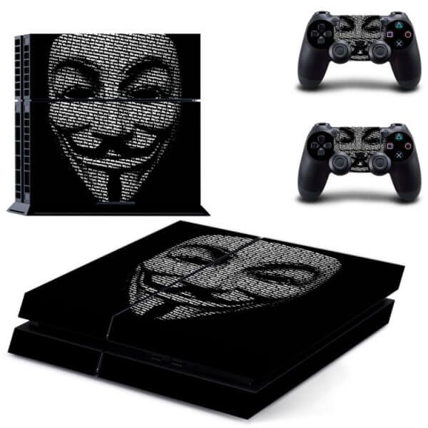 Anonymous PS4 skin