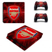 Arsenal PS4 Slim skin