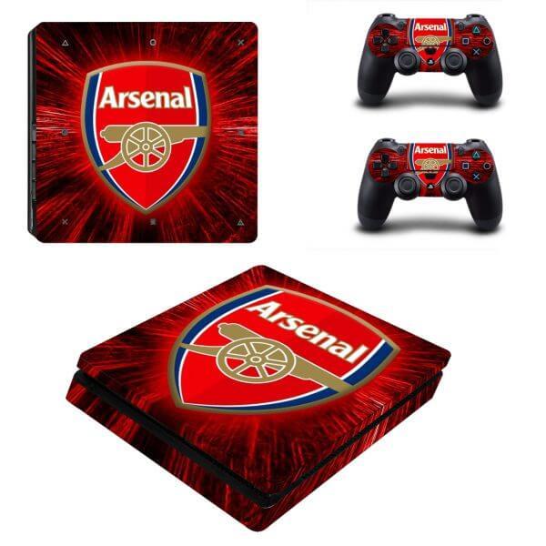 Arsenal PS4 Slim skin