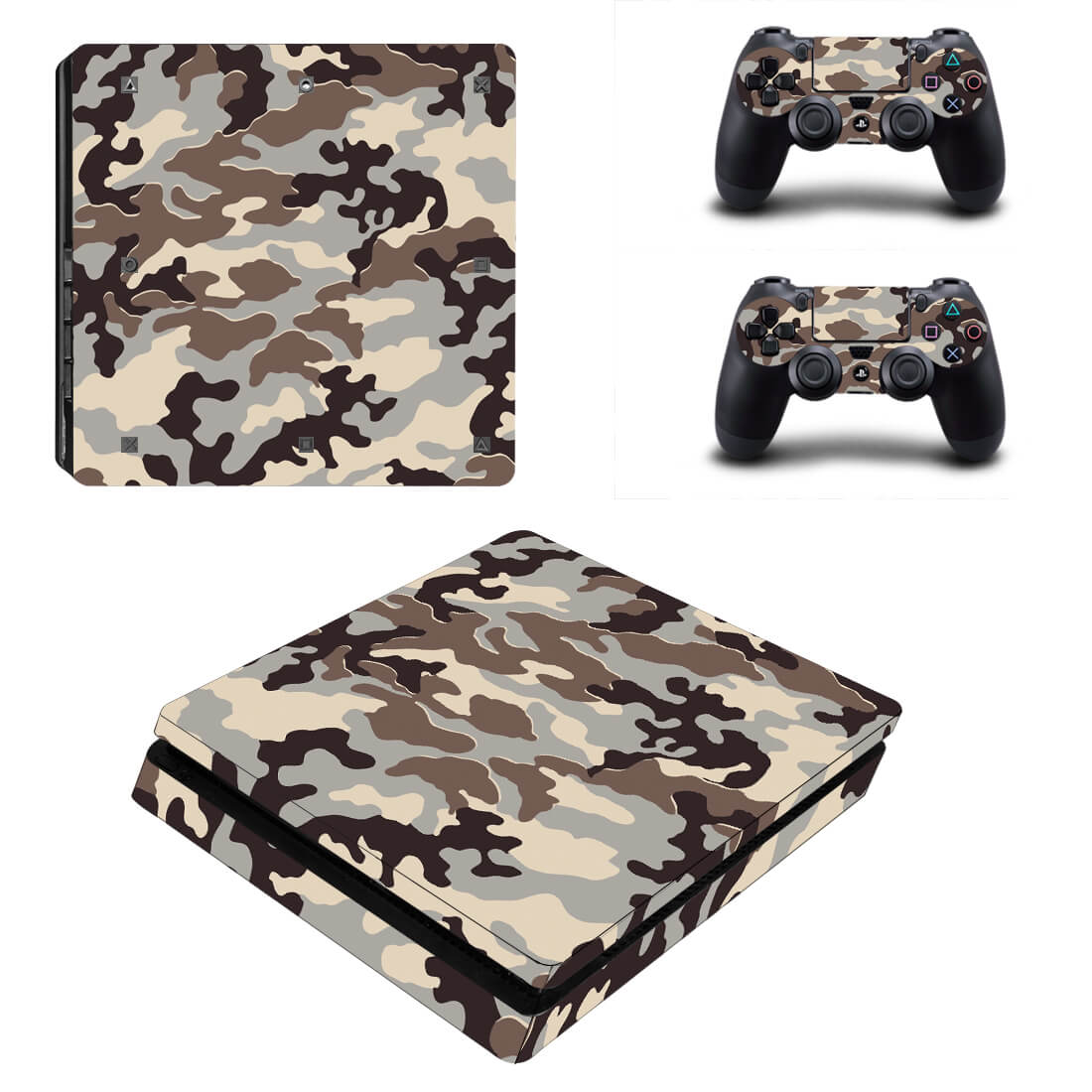 Dessert Army PS4 Slim skin