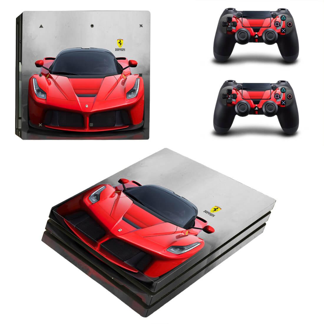 Ferrari PS4 Pro skin