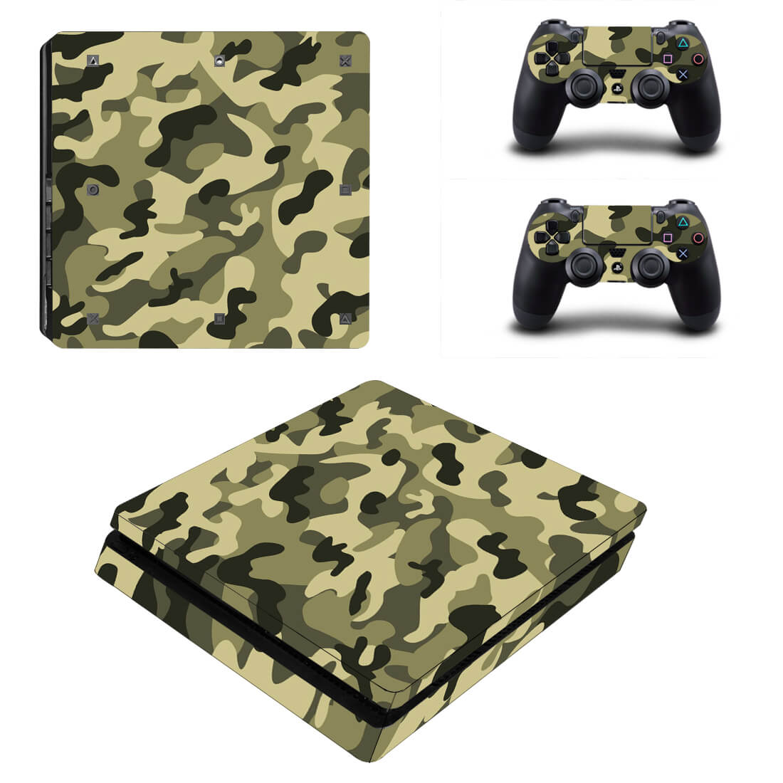 Navy Army PS4 Slim skin